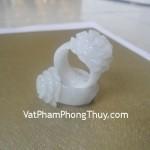 Nhẫn hoa mẫu đơn nguyên bản đá ngọc Phỉ Thúy Van Nam tăng nhân duyên S842
